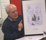 Francis met cartoon